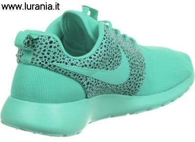 nike roshe run verde acqua